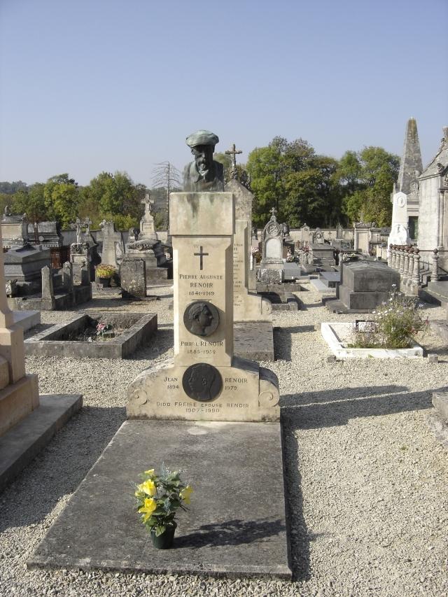 Essoyes - Pierre Auguste Renoir's place of burial