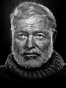 Ernest Hemingway via Wikipedia
