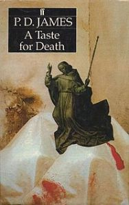 P D James' Novel - A Taste for Death - via Wikipedia