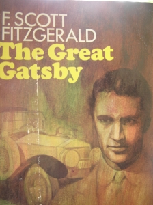 The Great Gatsby - front cover
