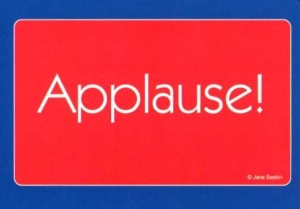 Applause card