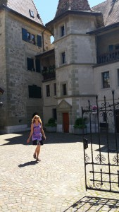 17th Century Castle Karen lived in as a child.