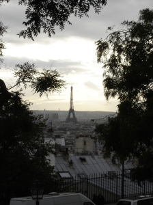 Paris - Eiffel Tower from Montmartre