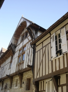 Troyes - Half-timbered buildings