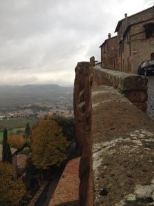 Orvieto - cliff scene