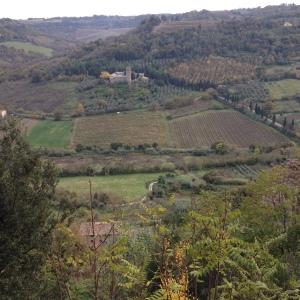 Orvieto - landscape and monastery