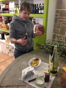 Orvieto - olive oil tasting