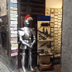 Orvieto - Suit of armor