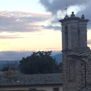 Orvieto - sunset
