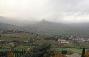 Orvieto - villa in mist