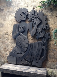 Orvieto - wood carving 1