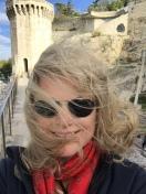 On the Avignon Bridge in Provence, France